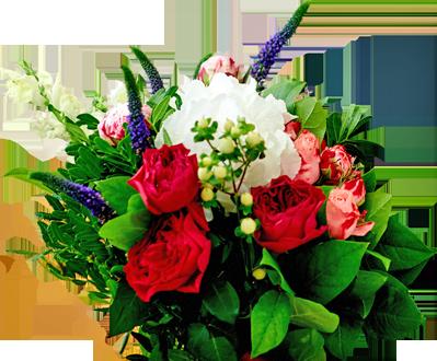 Доставляем цветы