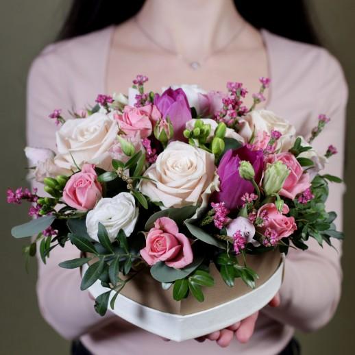 """Оригинальная цветочная коробка """"Мондиаль"""""""