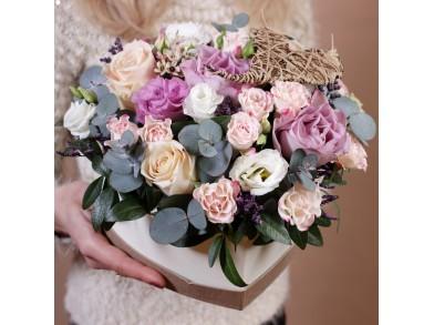 """Коробка цветов  """"Romance"""""""