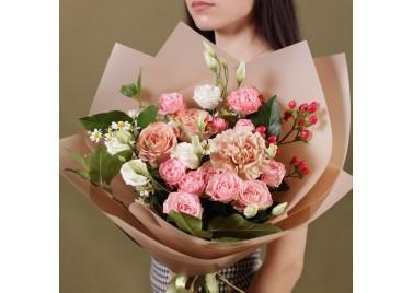 """Букет цветов """"Карамель"""""""