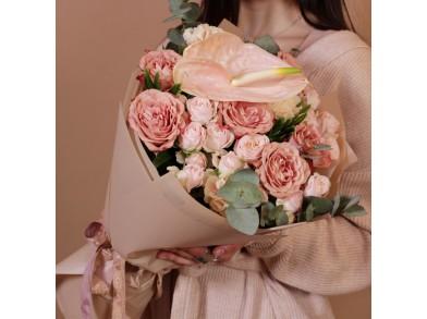 """Букет цветов """"Кофейный вкус"""""""