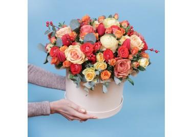 "Коробка цветов ""POZITIV"""