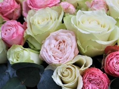 """Коробка из роз """"Джульетта"""""""