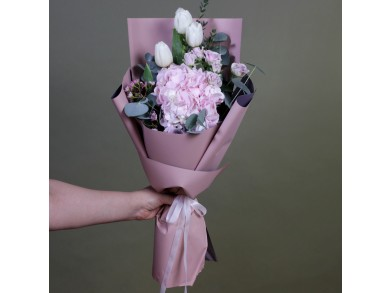 "Букет цветов  ""Jeannine"""