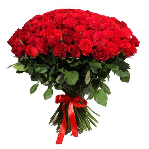 Огромный букет из 101 Красной Розы