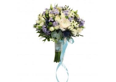 """Свадебный букет цветов """"Лимассол"""""""