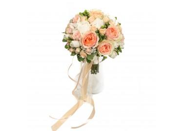 """Свадебный букет цветов """"Монреаль"""""""