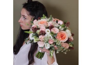 """Свадебный букет цветов """"Оливия"""""""