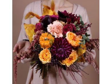 """Букет цветов """"Оттенки осени"""""""