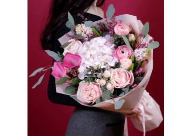 "Букет цветов ""Аромат любви"""