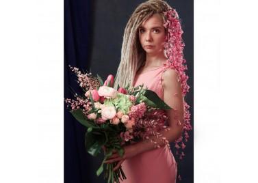 "Букет цветов ""Розовое чудо"""