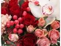 Цветочная композиция в коробке Сердце красавиц