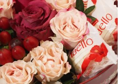 Цветы в коробке Седьмое чувство