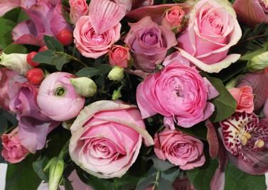"""Коробка цветов """"Цветочная роскошь"""""""