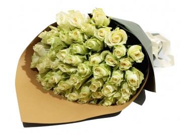 Букет из 51 Розы Этна