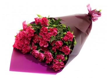 Букет из Розы Спрей Малина