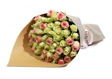 Букет из 51 Розы Дуэт