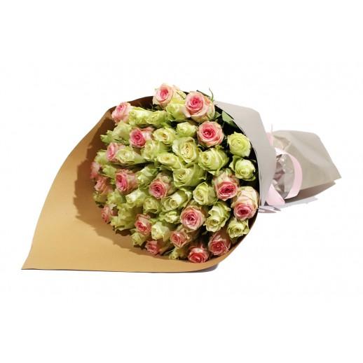 Классический букет из 51 Розы Дуэт