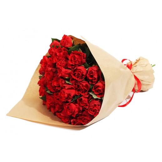 Классический букет из 51 Красной Розы