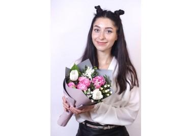 """Букет цветов """"История"""""""