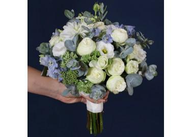 """Свадебный букет  цветов """"Пина колада"""""""