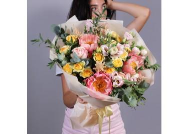 "Букет цветов ""Кампанелла"""