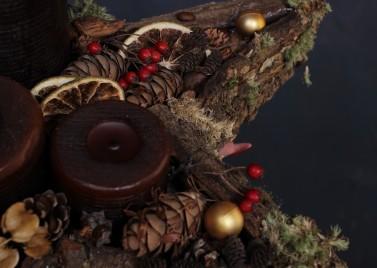 """Композиция """"Рождественская звезда"""""""