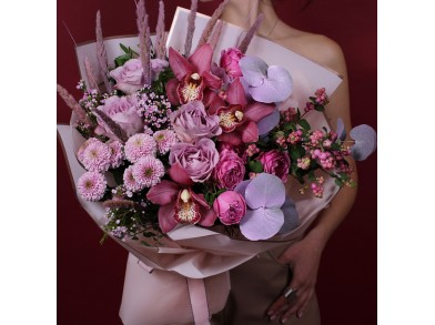 """Букет цветов """"Божоле"""""""